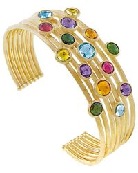 Marco Bicego Jaipur Colour 18k Gemstone Cuff - Metallic
