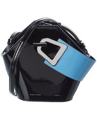 Danse Lente Mini Johnny Leather Bucket Bag - Multicolor