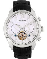 Heritor Men's Arthur Watch - Metallic