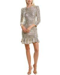 Ali & Jay Sparkle And Shine Mini Dress - Grey