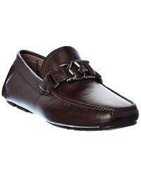 Ferragamo - Logo Leather Loafer - Lyst