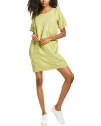 Eileen Fisher Petite Linen Shift Dress - Yellow