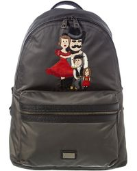 Dolce & Gabbana Zaino Backpack - Black