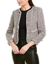 Rebecca Taylor Tweed Jacket - White