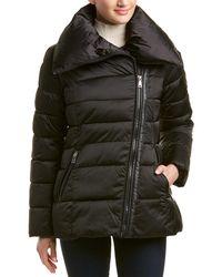 Tahari Blair Puffer Jacket - Black