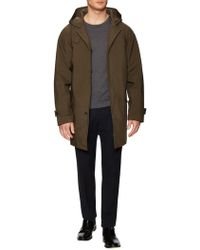 Jil Sander - Solid Hooded Trench - Lyst