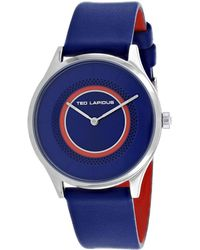Ted Lapidus Women's Classic Watch - Blue