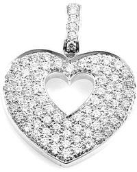 Poiray 18k 0.83 Ct. Tw. Diamond Enhancer - Metallic