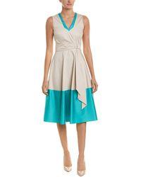 Karen Millen A-line Dress - Blue