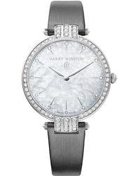Harry Winston Women's Premiere Diamond Watch - Metallic