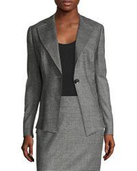 ESCADA - Cotton Pleated Jacket - Lyst