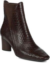 Donald J Pliner - Austen Leather Bootie - Lyst