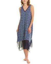 Donna Karan Sleep Gown - Blue