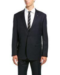 Michael Bastian 2pc Wool Suit - Blue