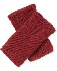 Portolano - Knit Armwarmers - Lyst