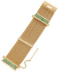 Aurelie Bidermann - Palazzo Statement Bracelet - Lyst