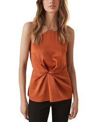Reiss Leandra Halter Going Out Top - Multicolour