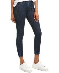 AG Jeans The Prima Indigo Pursuit Cigarette Crop - Blue