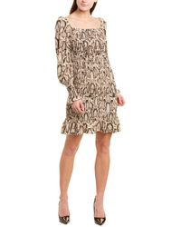 Gracia Sheath Dress - Brown