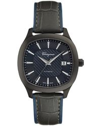 Ferragamo Men's Ferragamo Time Watch - Black