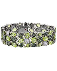 Roberto Coin 18k 37.25 Ct. Tw. Diamond & Peridot Bracelet - Multicolour