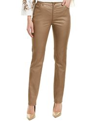 Lafayette 148 New York Thompson Pant - Yellow
