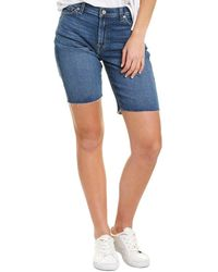 7 For All Mankind - 7 For All Mankind Relaxed Bermuda Short - Lyst