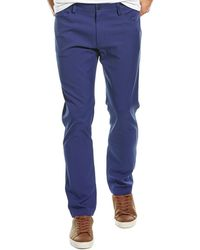 Theory Raffi Slim Fit Pant - Blue