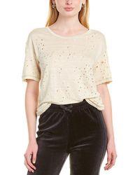 IRO Wool-blend T-shirt - White