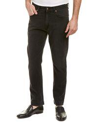 Gucci 60's Fit Straight Leg Jean - Black