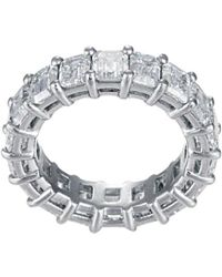 Diana M. Jewels . Fine Jewelry 18k 3.52 Ct. Tw. Diamond Ring - Metallic
