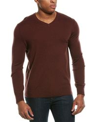 Theory Riland Wool-blend Jumper - Red