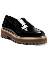 Vince Camuto Mckella Leather Platform Sneaker - Black