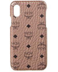 MCM Visetos Iphone X Case - Metallic