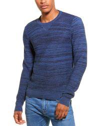 Woolrich Linen-blend Crewneck Jumper - Blue