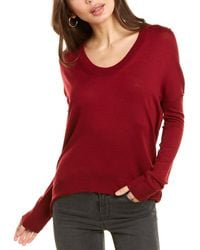 Zadig & Voltaire Preppy Wool Sweater - Red