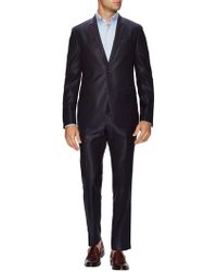 Fendi - Wool Textured Notch Lapel Suit - Lyst