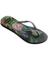 Havaianas Slim Tropical Flip Flop - Multicolour
