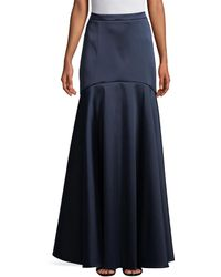 Temperley London Onyx Evening Skirt - Blue
