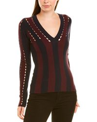 Autumn Cashmere Wool-blend Jumper - Red