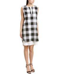 Misook Silk-lined Dress - Multicolor