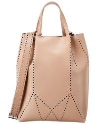 Alaïa Leather Bucket Bag - Brown