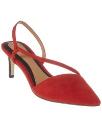Joie Reno Suede Sandal - Red