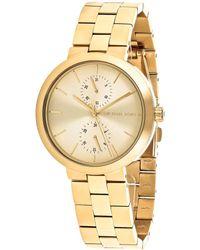 Michael Kors Women's Garner Watch - Metallic