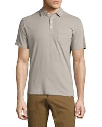 Woolrich - Solid Cotton Polo - Lyst