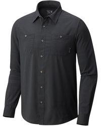 Mountain Hardwear - Air Tech Striped Shirt - Lyst