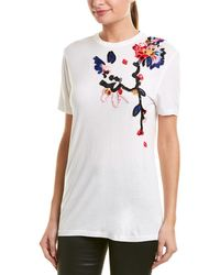 Prabal Gurung Floral Embroidered Top - White