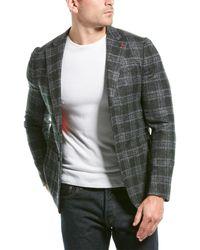 Isaia Alpaca & Wool-blend Sportcoat - Multicolour