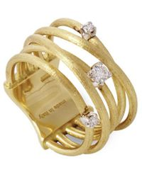 Marco Bicego Luce 18k Yellow Gold 0.16 Ct. Tw. Diamond Ring - Metallic