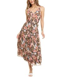 We Are Kindred Cleo Bow Back Dress - Multicolour